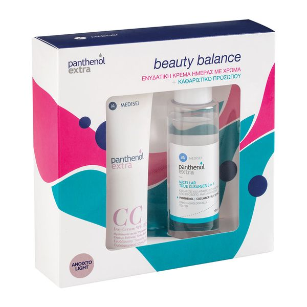 Panthenol Extra CC Day Cream SPF15 Light 75ml & Panthenol Extra Micellar True Cleanser 3 in 1 100ml