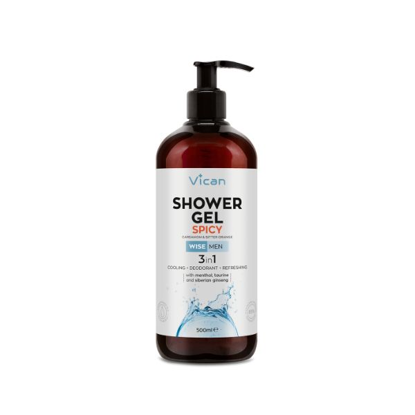 Vican Wise Men Shower Gel Spicy 500ml