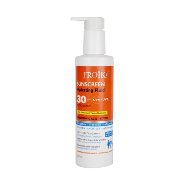 Froika Sunscreen Hydrating Fluid Hyaluronic Acid SPF30 250ml